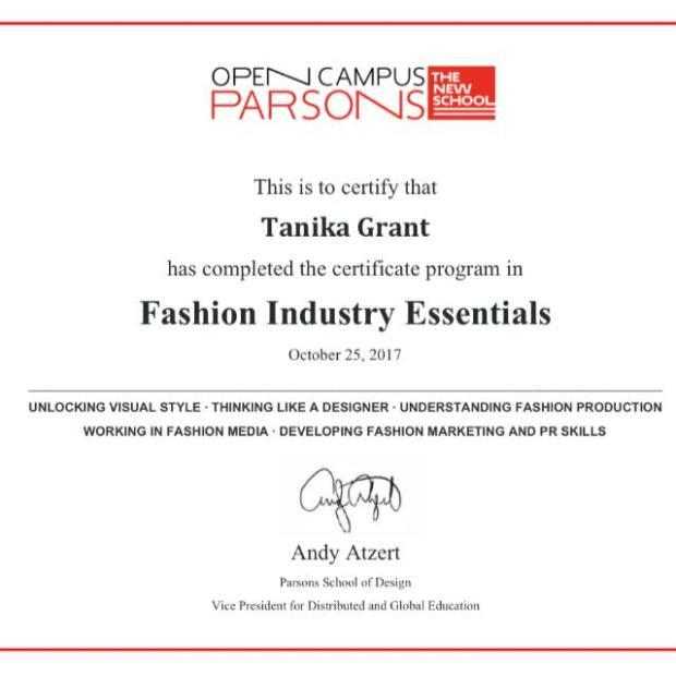 Enjoyable Parsons School Of Design Fashion Industry Essentials Interior Design Ideas Clesiryabchikinfo